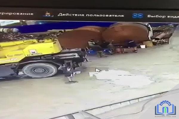 انفجار مخزن در هنگام جوشکاری
