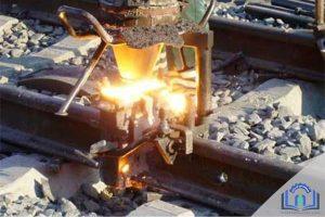 فرایند جوشکاری ریل آهنی قطار