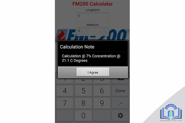 نرم افزار اطفا گازی FM200