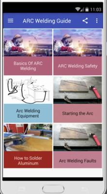 اپلیکیشن اندرویدی Arc Welding Guide