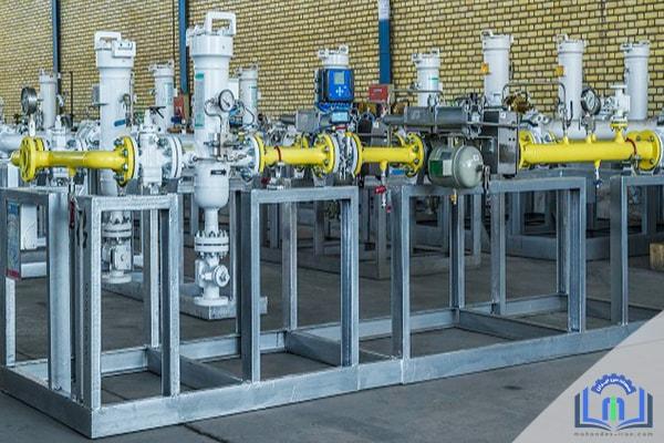 ایستگاه های اندازه گیری و تقلیل فشار گاز
