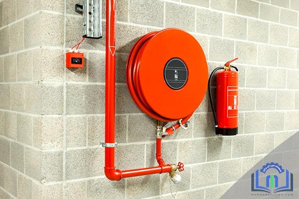 نصب سیستم های لوله ایستاده آتش نشانی و نصب سیستم های شیلنگی آتش نشانی
