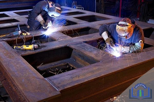 جوشکاری ساختمانهای فولادی