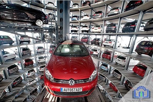 پارکینگ های مکانیزه