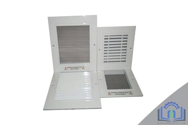 دریچه های تامین هوای تازه
