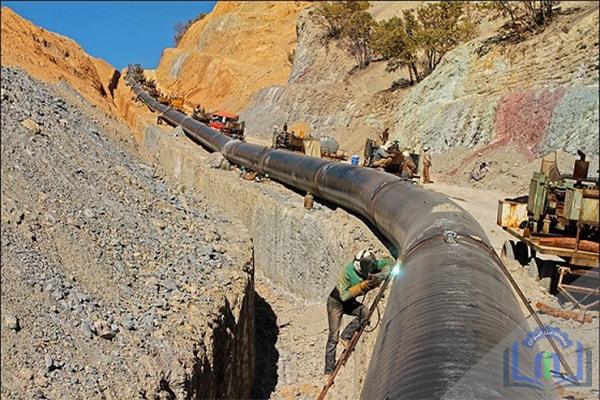 خطوط لوله انتقال گاز فشار قوی