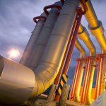 لوله کشی گاز طبیعی در محوطه های صنعتی
