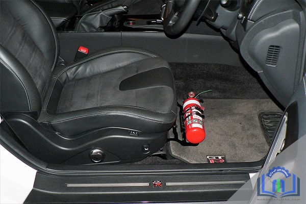 نصب کپسول آتشنشانی در خودرو