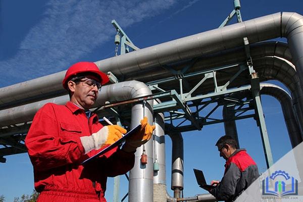 نظارت و بازرسی لوله کشی گاز